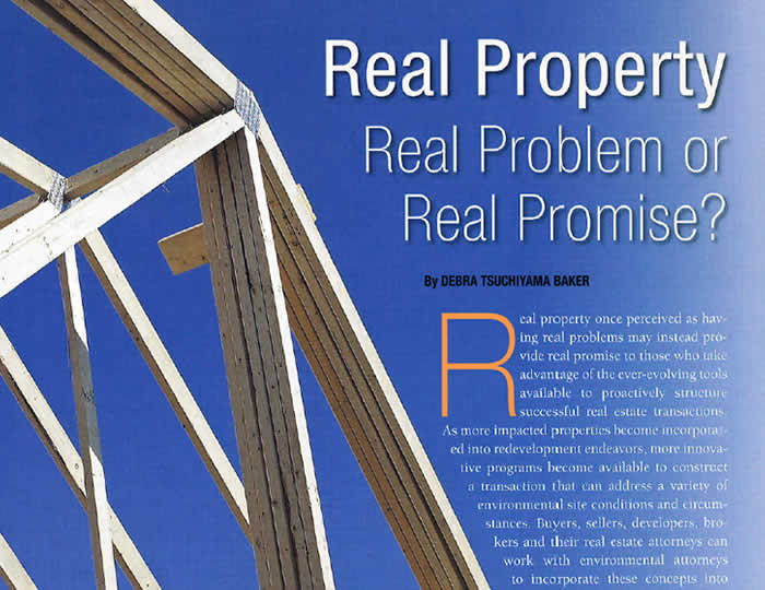 Baker · Wotring LLP | Real Property - Real Problem or Real Promise?