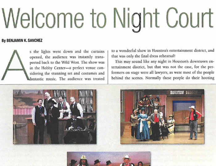 Baker · Wotring LLP | Welcome to Night Court